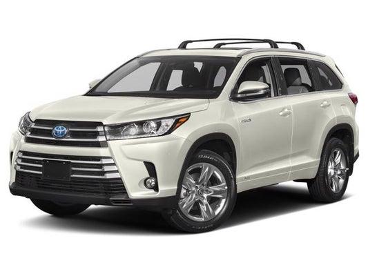 2019 Toyota Highlander Hybrid Hybrid Xle For Sale In Wisconsin